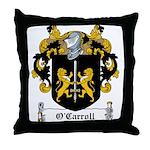 O'Carroll Family Crest Throw Pillow