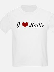 I love Hailie T-Shirt