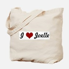 I love Joelle Tote Bag