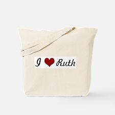 I love Ruth Tote Bag