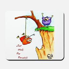 Cliff Golf Mousepad