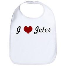 I love Jeter Bib