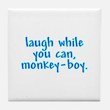 Monkey Boy Tile Coaster