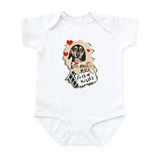coonhound puppy kisses Infant Bodysuit