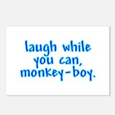 Monkey Boy Postcards (Package of 8)