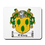 O'Clery Family Crest Mousepad