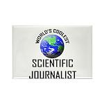 World's Coolest SCIENTIFIC JOURNALIST Rectangle Ma
