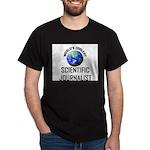 World's Coolest SCIENTIFIC JOURNALIST Dark T-Shirt