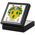 O'Clery Family Crest Keepsake Box