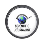 World's Coolest SCIENTIFIC JOURNALIST Wall Clock