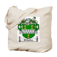 O'Coffee Family Crest Tote Bag