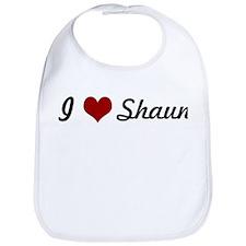 I love Shaun Bib