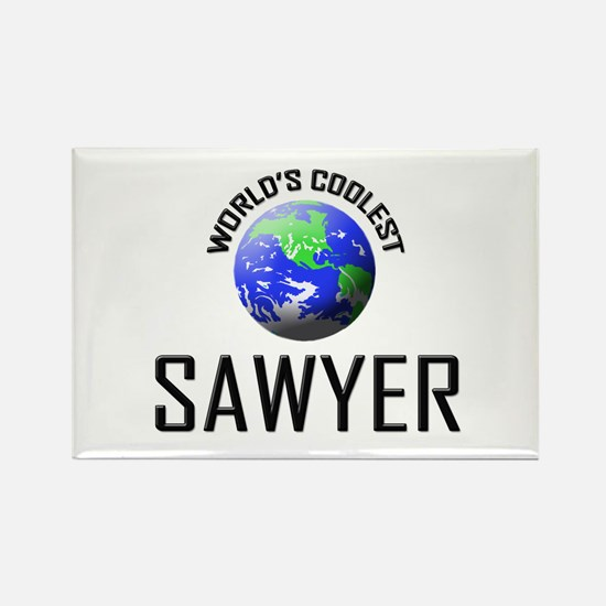 World's Coolest SAWYER Rectangle Magnet