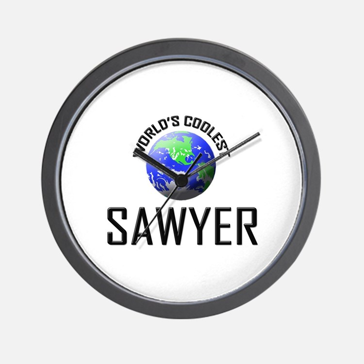 World's Coolest SAWYER Wall Clock