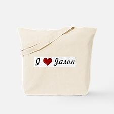 I love Jason Tote Bag