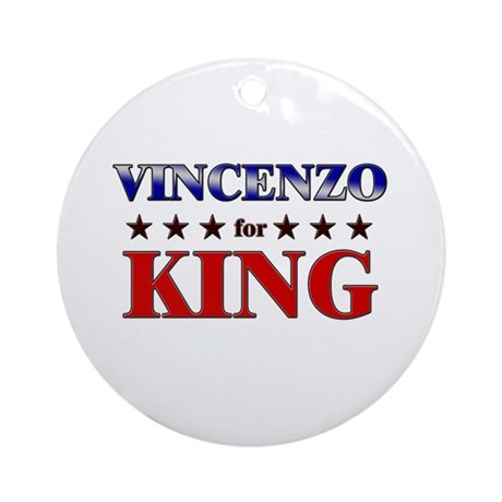 VINCENZO for king Ornament (Round)