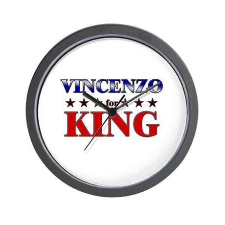 VINCENZO for king Wall Clock