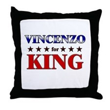 VINCENZO for king Throw Pillow