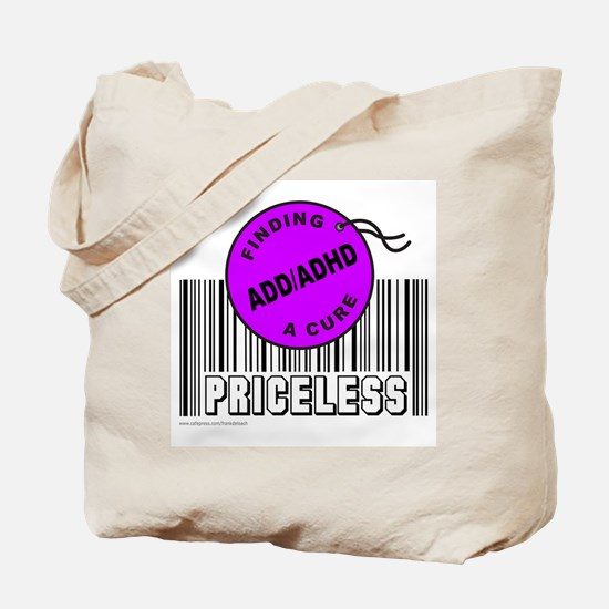 ADD/ADHD FINDING A CURE Tote Bag