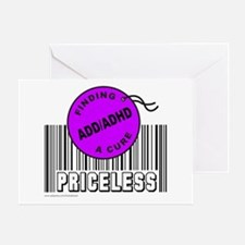 ADD/ADHD FINDING A CURE Greeting Card