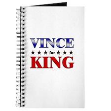 VINCE for king Journal
