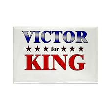 VICTOR for king Rectangle Magnet