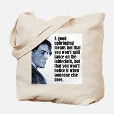 "Chekhov ""Upbringing"" Tote Bag"