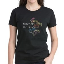 Fireworks Sister of the Groom Tee