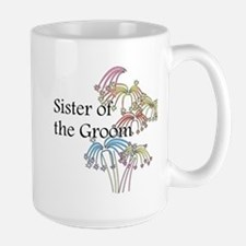 Fireworks Sister of the Groom Mug