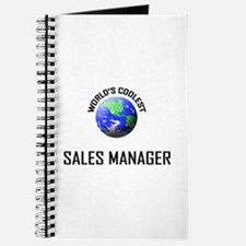 World's Coolest SALES MANAGER Journal