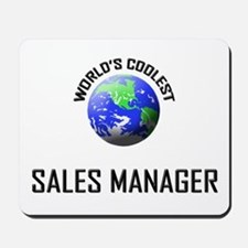 World's Coolest SALES MANAGER Mousepad