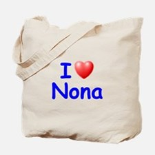 I Love Nona (Blue) Tote Bag