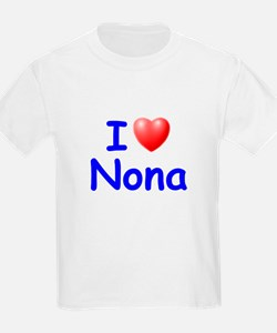 I Love Nona (Blue) T-Shirt