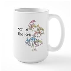 Fireworks Son of the Bride Mug