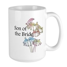 Fireworks Son of the Bride Mug