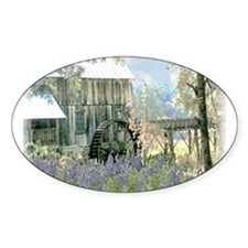 The Old Griss Mill Oval Decal