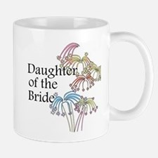 Fireworks Daughter of the Bride Mug