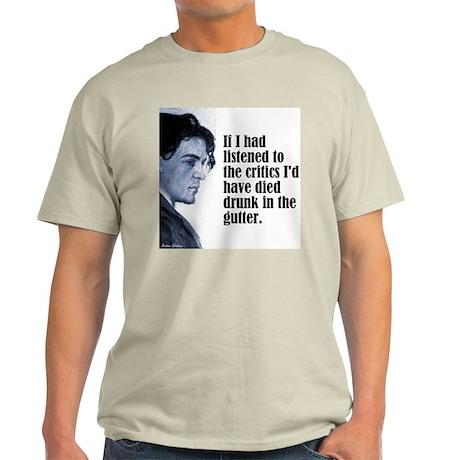 """Chekhov """"The Critics"""" Light T-Shirt"""