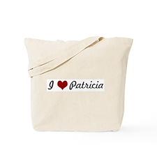 I love Patricia Tote Bag