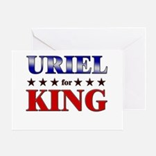 URIEL for king Greeting Card