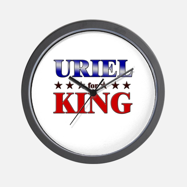 URIEL for king Wall Clock