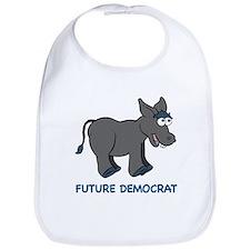 Future Democrat Donkey Bib