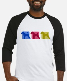 Color Row Welsh Terrier Baseball Jersey