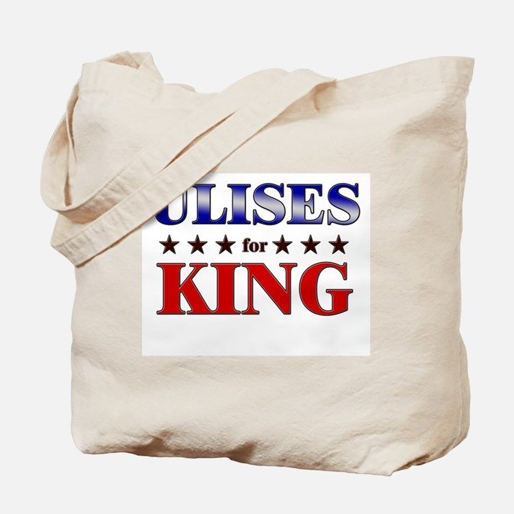 ULISES for king Tote Bag
