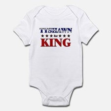 TYSHAWN for king Infant Bodysuit