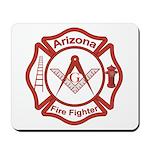Arizona Masons Fire Fighters Mousepad