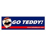 Go Teddy! Bumper Sticker