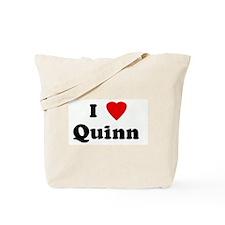 I Love Quinn  Tote Bag