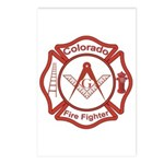 Colorado Masons Fire Fighters Postcards (Package o