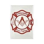Colorado Masons Fire Fighters Rectangle Magnet (10
